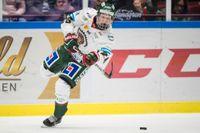 Rasmus Dahlin är Årets junior i svensk ishockey. Arkivbild.