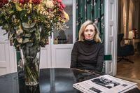 Karin Aspenberg, tillträdande chefredaktör på Grönköpings Veckoblad.