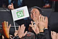 Renzi har opinionsmätningarna mot sig inför söndagens folkomröstning.