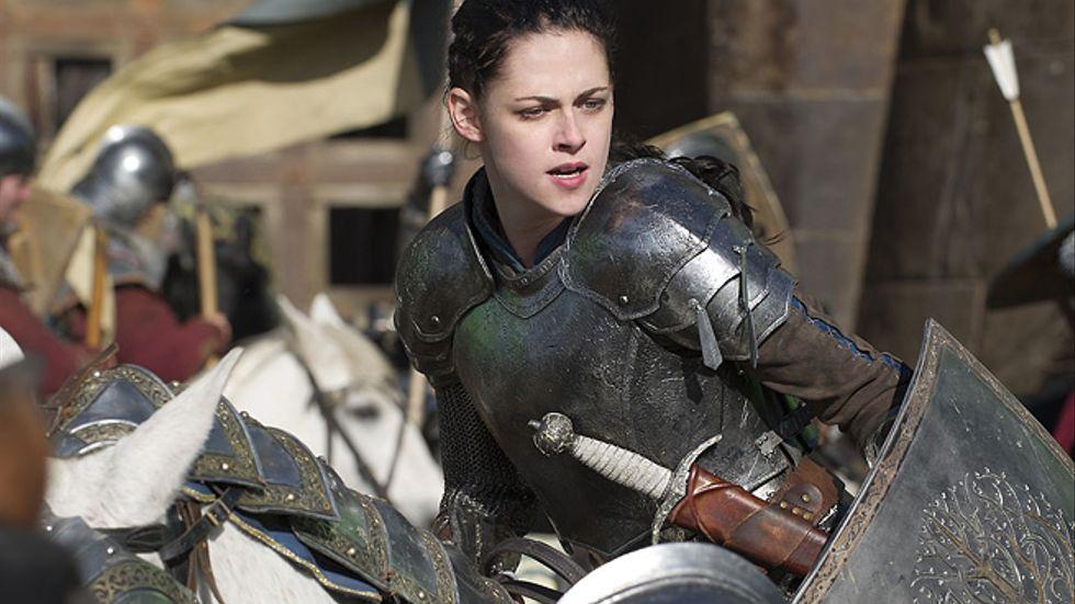Kristen Stewart i Snow White & the huntsman.