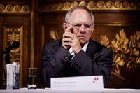 Tysklands finansminister Wolfgang Schäuble.