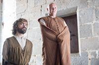 Peter Dinklage och Conleth Hill som Tyrion Lannister och Lord Varys.