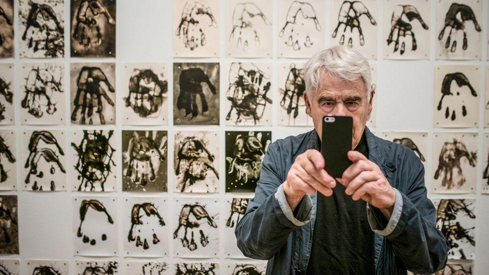Det fotografiska kulturarvet måste tas om hand om. På bilden Gunnar Smoliansky på Moderna 2003.