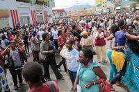 Demonstrationer i Burundi.