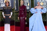 Modehöjdpunkterna från Golden Globe-galan