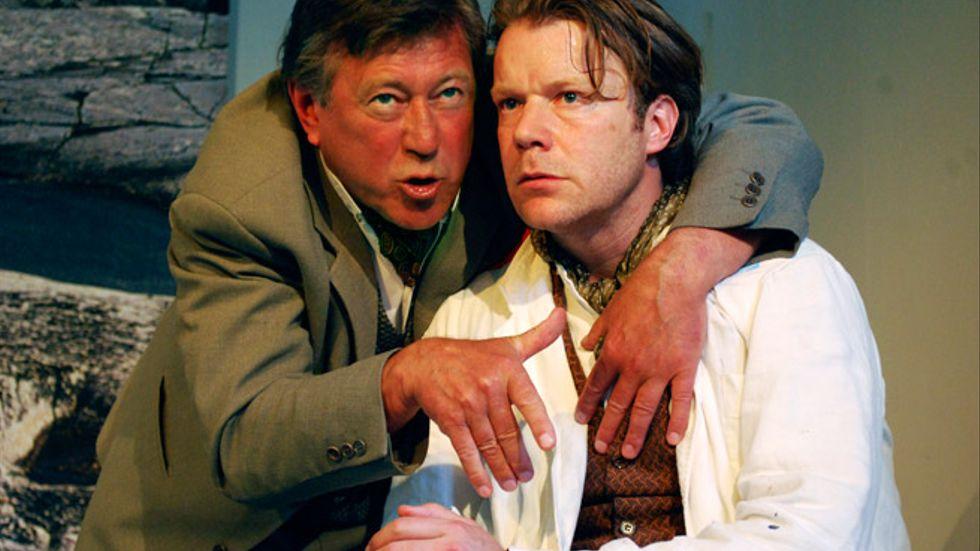 Rico Rönnbäck som Gustaf och Kalle Westerdahl som Adolf.
