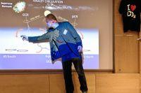 Solens aktivitet och nyttan av koldioxid hör till de saker som avhandlas under konferensen i Mölndal.