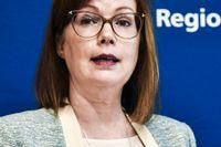 Hälso- och sjukvårdsregionrådet Anna Starbrink (L).