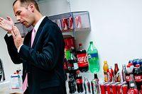 """""""Vi siktar på att förändra hela plastindustrin"""", säger Scott Vitters, chef för Coca-Colas klimatteam vid huvudkontoret i Atlanta i delstaten Georgia."""