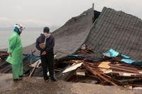 Förödelsen är stor efter det senaste jordskalvet i Indonesien.