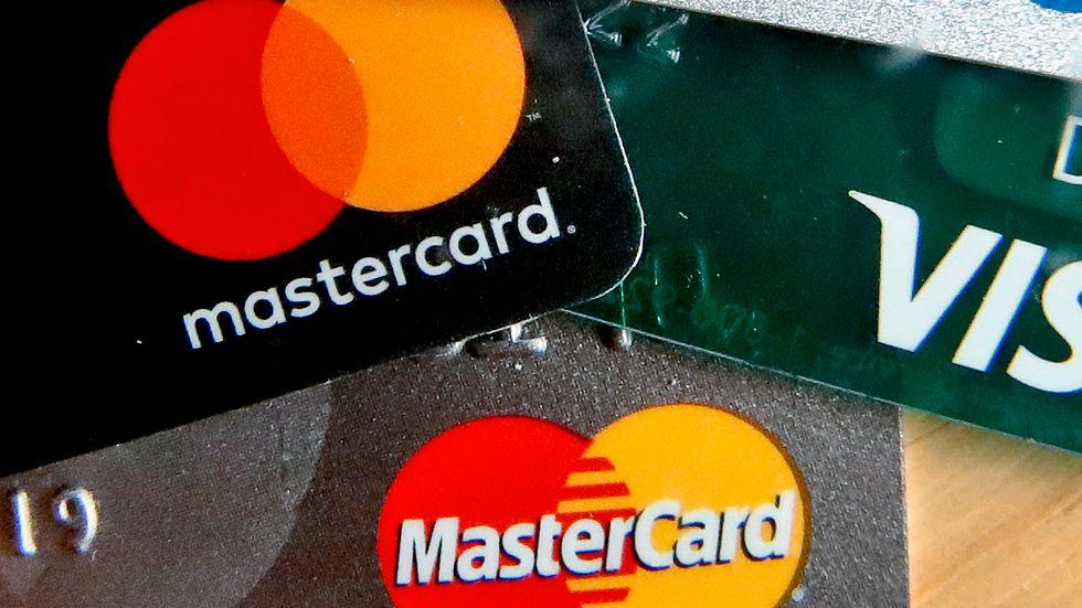 Mastercards vinst under andra kvartalet överraskar. Arkivbild.