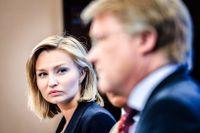 Lars Adaktusson ifrågasätter förtroendet för Ebba Busch efter hustvisten. Arkivbild.