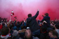 Liverpool-fansen attackerade Manchester Citys-spelarbuss inför kvartsfinalmötet på Anfield.