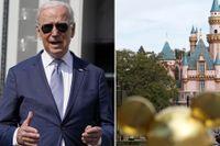 Joe Biden har träffat flera storföretag, däribland Disney, för att få fler att vaccinera sig.