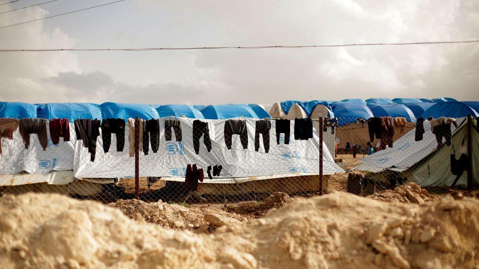700–750 barn med kopplingar till Europa uppskattas befinna sig i läger i nordöstra Syrien.
