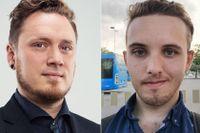 Johan Svensson och Nick Lindholm, Föreningen Tryggare Ruspolitik.