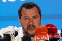 Italiens vice premiärminister och Legas ledare Matteo Salvini.