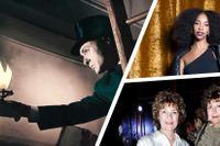 """Joseph Cotten i """"Gaslight"""", Janice som gästar """"Fyllepodden"""" och kompisarna Amelia Adamo och Susanne Hobohm."""