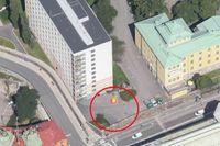Det som idag är ett luftigt stadsrum med vyer över Klara sjö, blir platsen för fina hyresrätter.