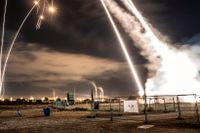 Israels luftvärnsrobotförsvar Iron Dome har slagit ut en stor del av angreppen från Gaza.
