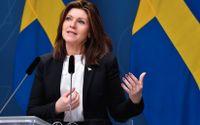 Arbetsmarknadsminister Eva Nordmark (S) ser ljuspunkter i arbetsmarknadsmörkret.