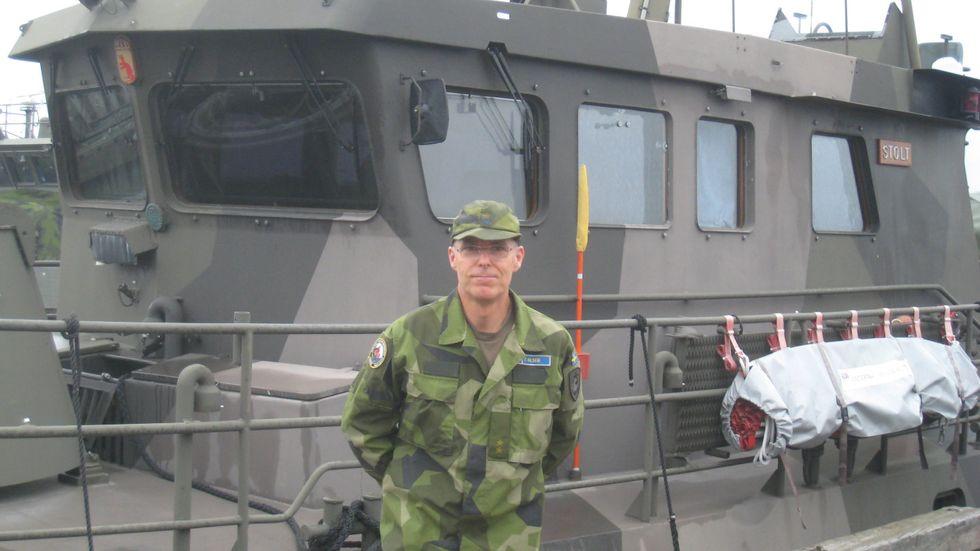 Torbjörn Olsen fortsatte arbeta som ytbärgare i tio år efter Estoniakatastrofen. I dag jobbar han i Göteborg som maskintjänstechef i 17:e bevakningsbåtkompaniet.