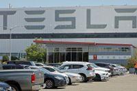 En dödsolycka med en Tesla i Texas antas ha skett i en förarlös bil. Arkivbild.