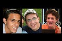 Eyal Yifrah, 19 år gammal, Gilad Shaar, 16 år, och Naftali Fraenkel, 16 år, fördes bort den 12 juni och återfanns döda den 30 juni.