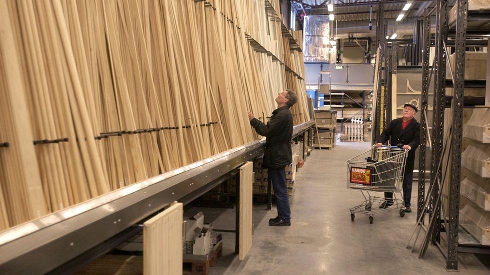Trä blir allt dyrare. Arkivbild.