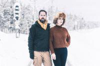 Paret Thomas Engström och Margit Richert har tillbringat de senaste åren utomlands men bor idag i Jokkmokk.