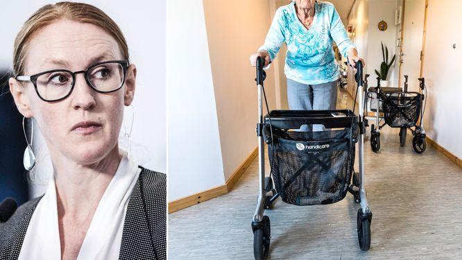 Stockholms äldrevård sämst på att ta vaccin