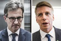 Finansinspektionens Erik Thedéen blev i tisdags uppkallad till finansdepartementet och Per Bolund.