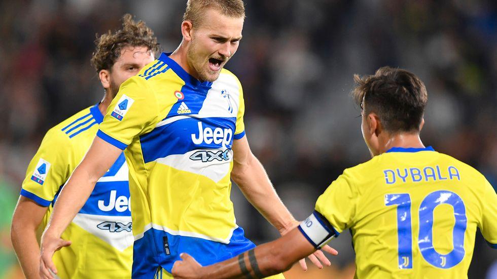 Juventus Matthijs de Ligt gjorde 3–2-målet.