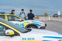 Polisen har ökad närvaron utmed E65 mellan Ystad och Malmö på grund av stenkastningarna. Arkivbild.