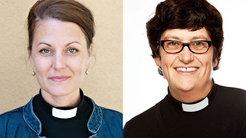 Ewa Lindqvist Hotz och Helle Klein.