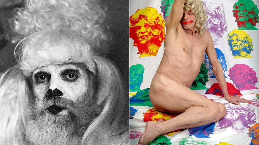 """""""Kjartan Pudel"""" och """"Kjartan Pinuppa"""". (Både bilderna är något beskurna.)"""