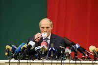Storbritannien och Kanada inför sanktioner mot Belarus auktoritära president Aleksandr Lukasjenko. Arkivbild.