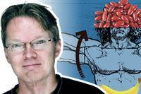 SvD:s reporter Henrik Ennart. Illustration: Thomas Molén