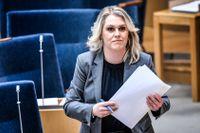 Socialminister Lena Hallengren (S).