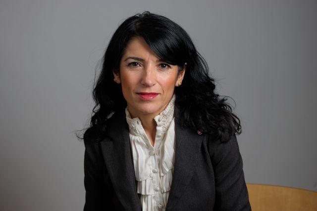 Amineh Kakabaveh, riksdagsledamot för Vänsterpartiet och grundare av nätverket Varken hora eller kuvad.
