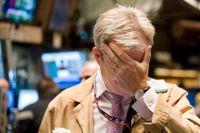 Handlargolvet på New York-börsen den 29 september 2008.