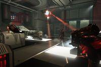 """Scen ur spelet """"Syndicate"""", utvecklat av Starbreeze."""