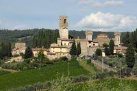 Än i dag är Vallombrosa i Toscana en imponerande syn.