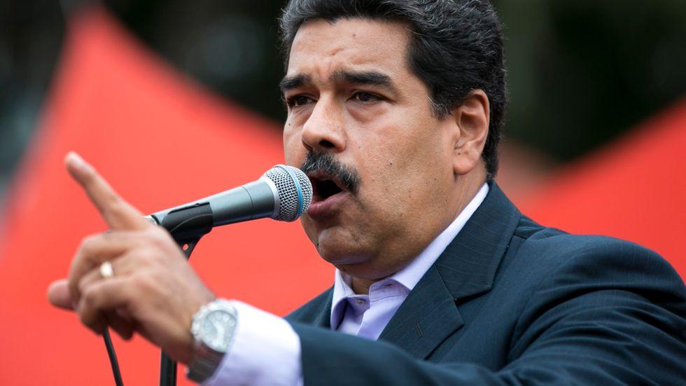 Venezuelas president Nicolás Maduro håller landet i ett järngrepp.