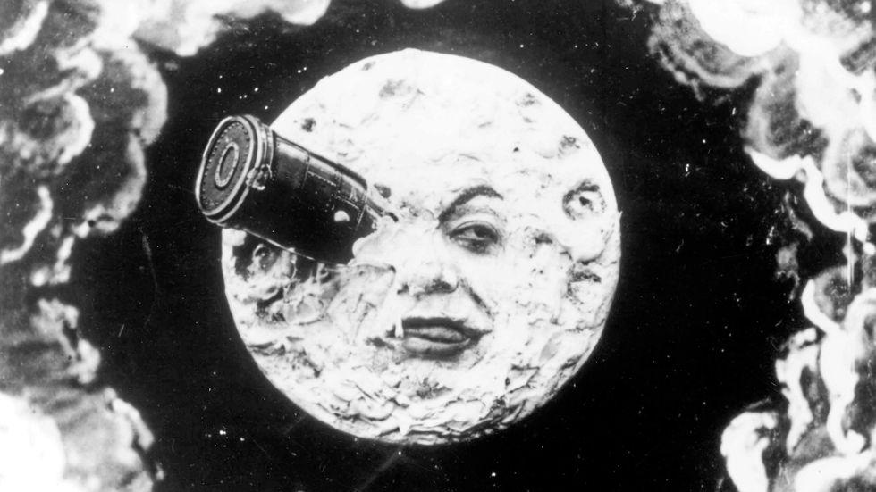 """George Méliès """"Le voyage dans la lune"""" (""""Resan till månen"""", 1902.)"""