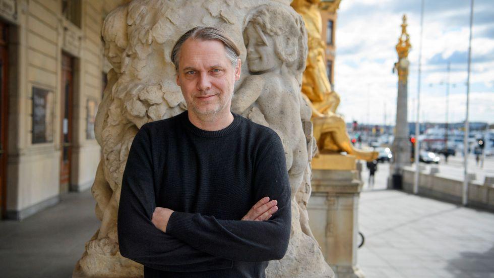 Äntligen dags att släppa in publiken, Dramatens chef Mattias Andersson är redo för hösten.