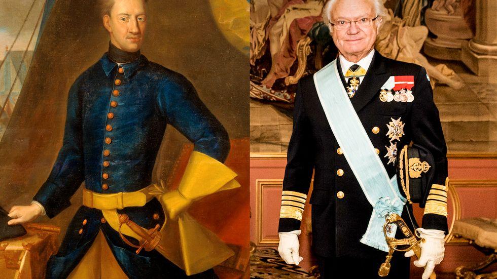 Carl XVI Gustaf är idag dubbelt så gammal som Karl XII var när han dog.