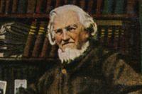 """August Heinrich Hoffmann von Fallersleben skrev """"Deutschlandlied"""", som inleds med orden """"Deutschland, Deutschland über alles / Über alles in der Welt""""."""
