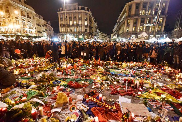 Place de la Bourse i onsdags.