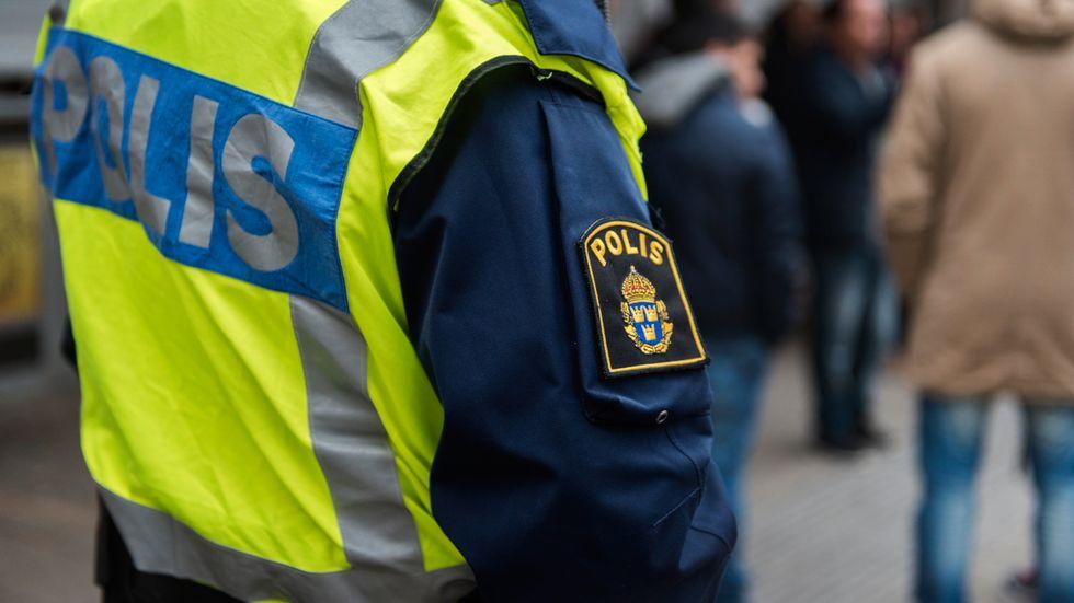 Regeringen vill öka utbildningen av poliser. Men många utbildningsplatser står tomma och i Växjö har 21 hoppat av efter en månad. Arkivbild.